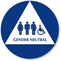 Gender Neutral Signage
