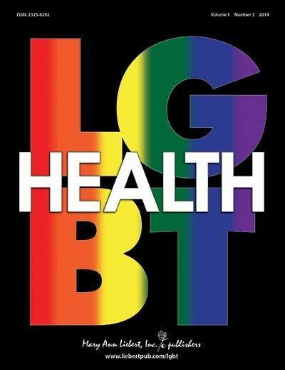 Spanning a broad array of disciplines LGBT Health, published quarterly online with Open Access options and in print, brings together the LGBT research, health care, and advocacy communities to address current challenges and improve the health, well-being, and clinical outcomes of LGBT persons. The Journal publishes original research, review articles, clinical reports, case studies, legal and policy perspectives, and much more. Complete tables of content and a sample issue may be viewed on the LGBT Health website. Picture Credit: Mary Ann Liebert, Inc., publishers.