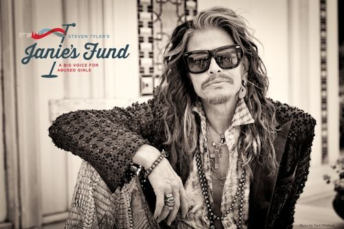 Musician Steven Tyler announced today the launch of his new signature philanthropic initiative to help girls who have been abused and neglected: Janie's Fund - Steven Tyler Picture Credit: Youth Villages
